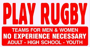 Play Rugby!